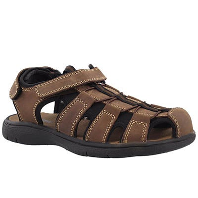 Mns Linus brown fisherman sandal