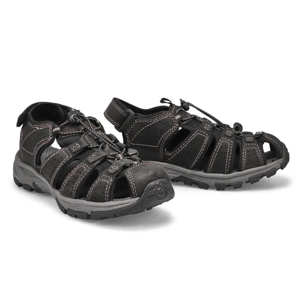 Mns Linus 2 black fisherman sandal