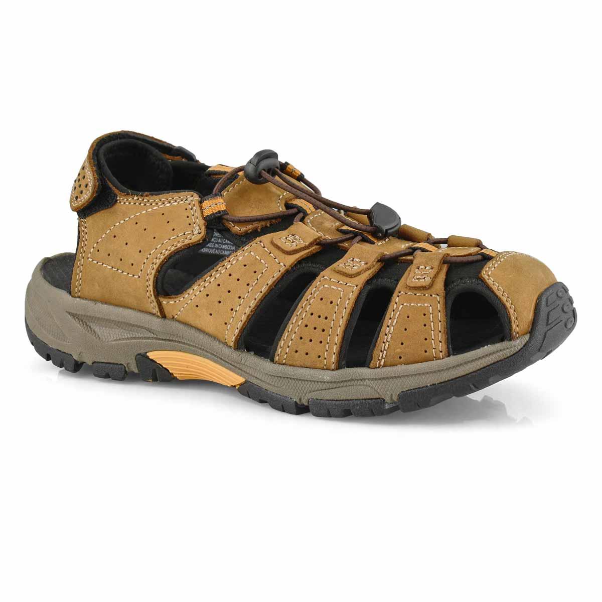Mns Linus 2 brown fisherman sandal