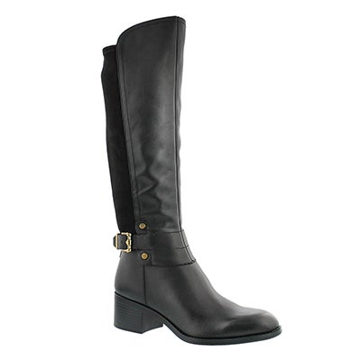 Franco Sarto Women's LIORA black riding boots