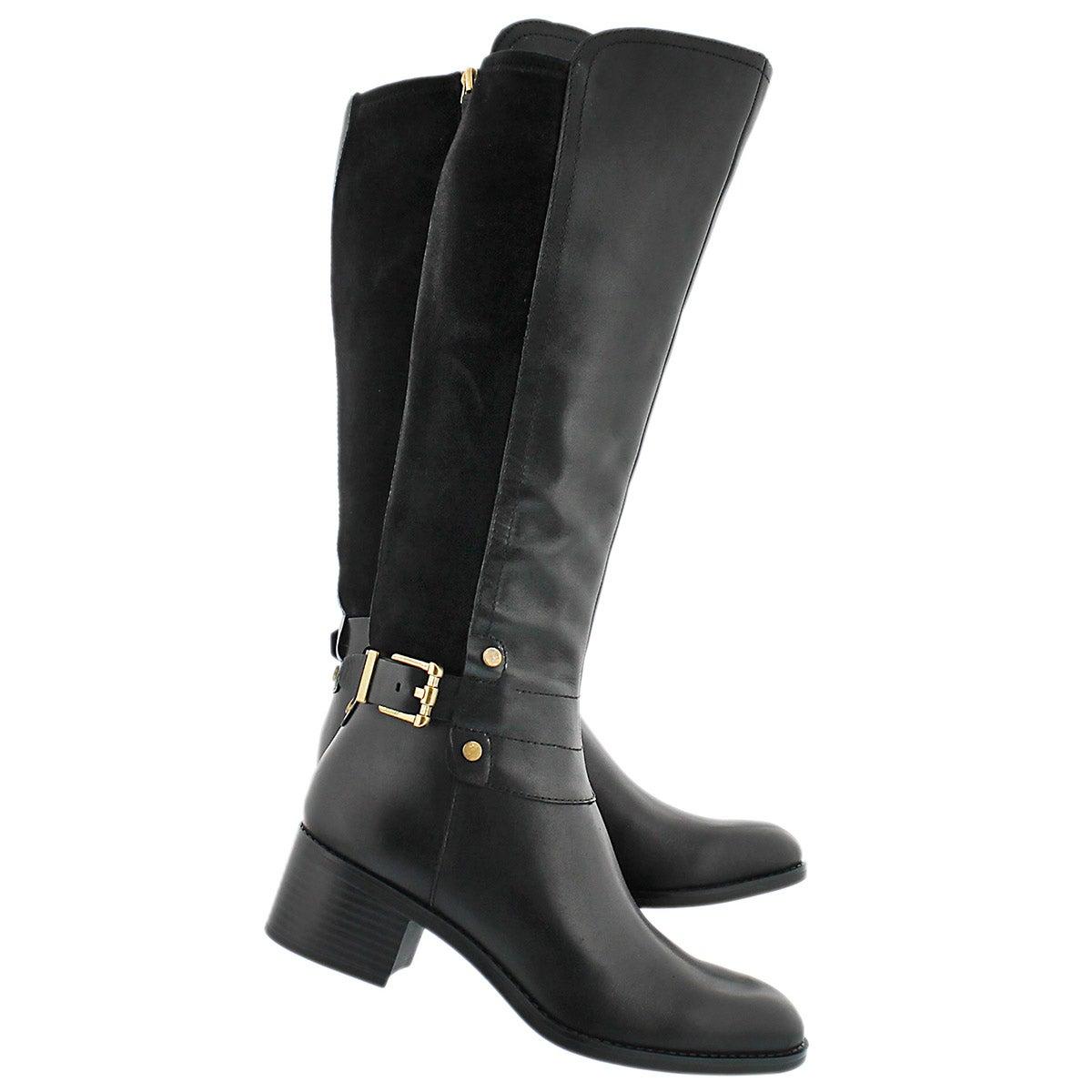 Lds Liora black riding boot