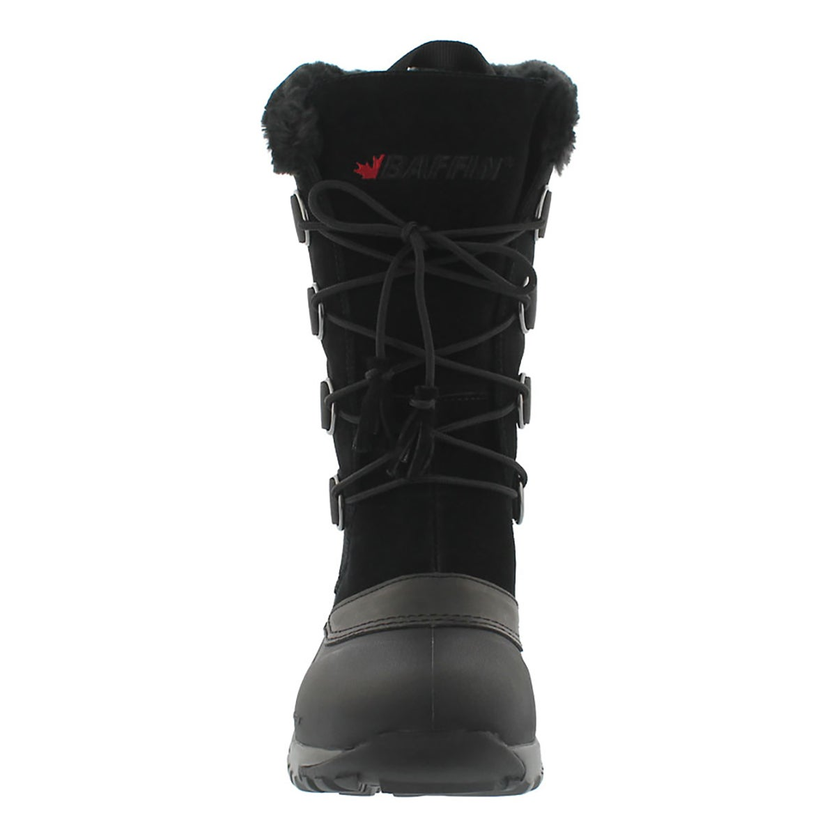 Lds Kristi blk lace up wtpf winter boot