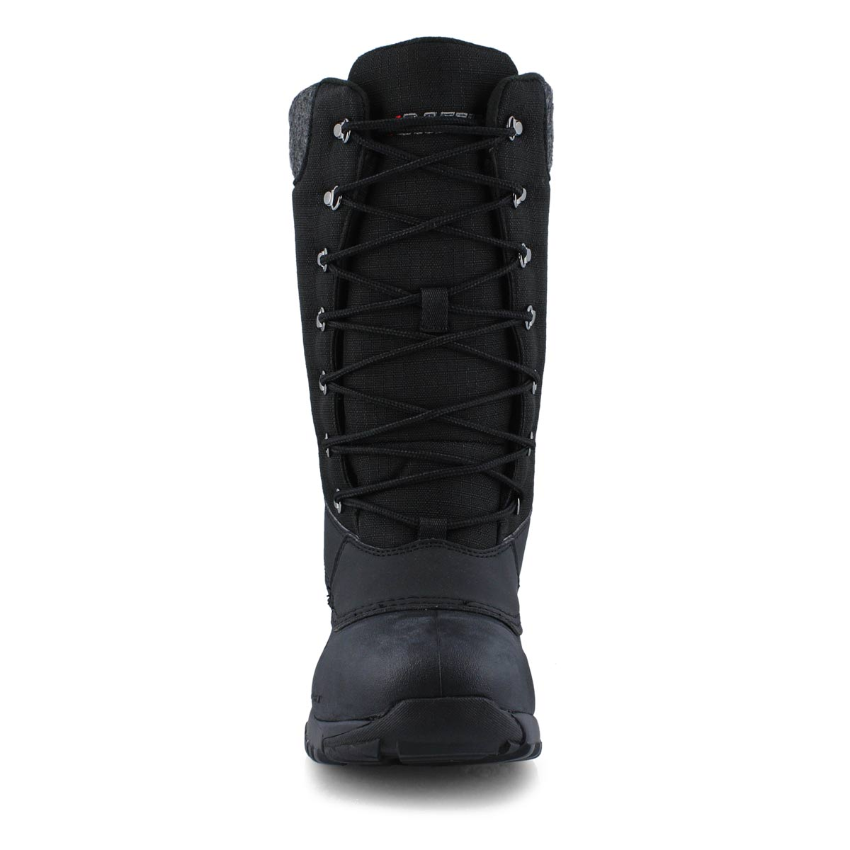 Lds Jess black lace up wtpf winter boot