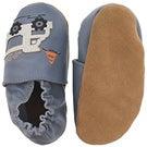 Inf Little Dump Truck blue slipper