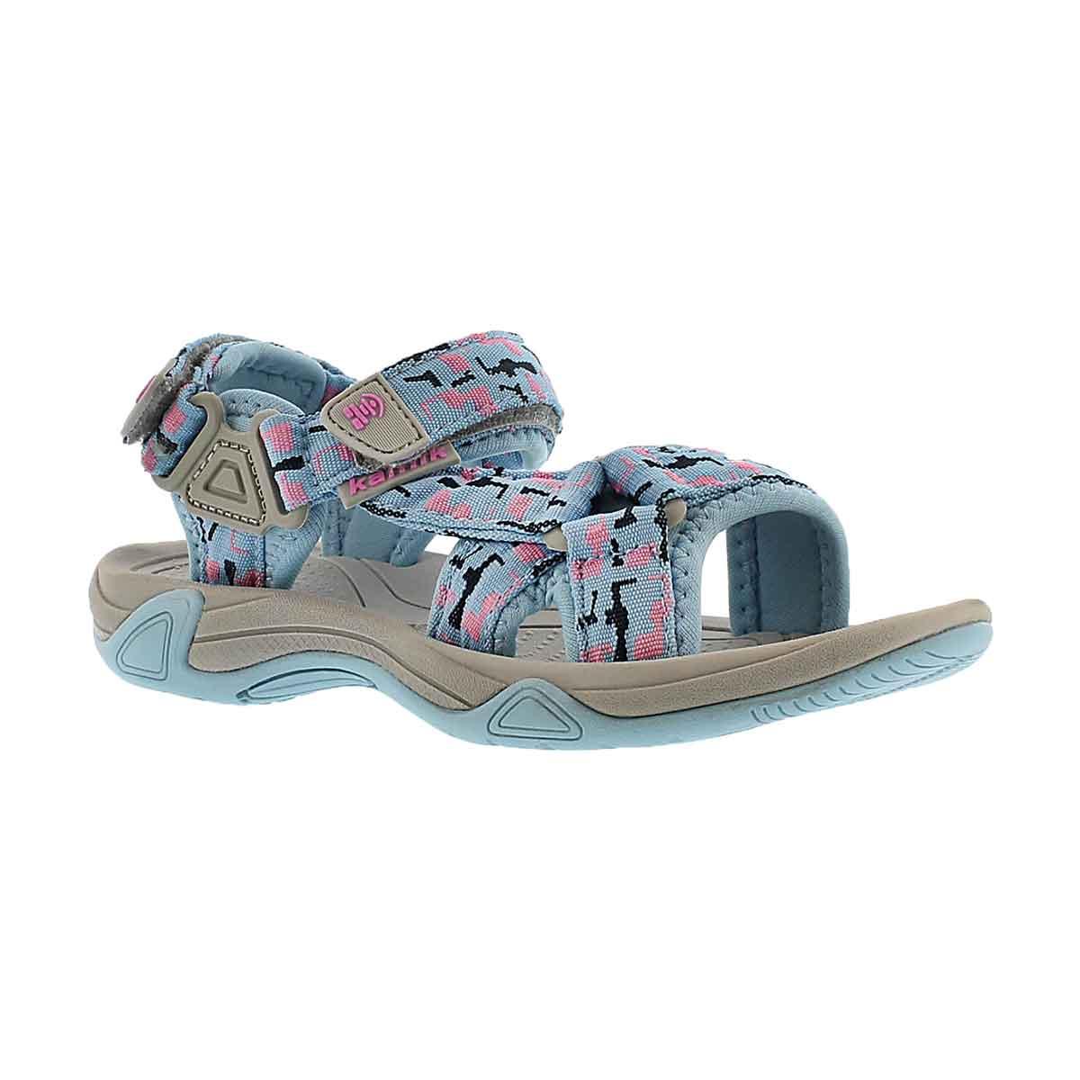 Sandale Lowtide, bleu pâle, filles