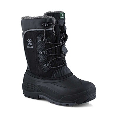 Bys Luke black wtpf winter boot