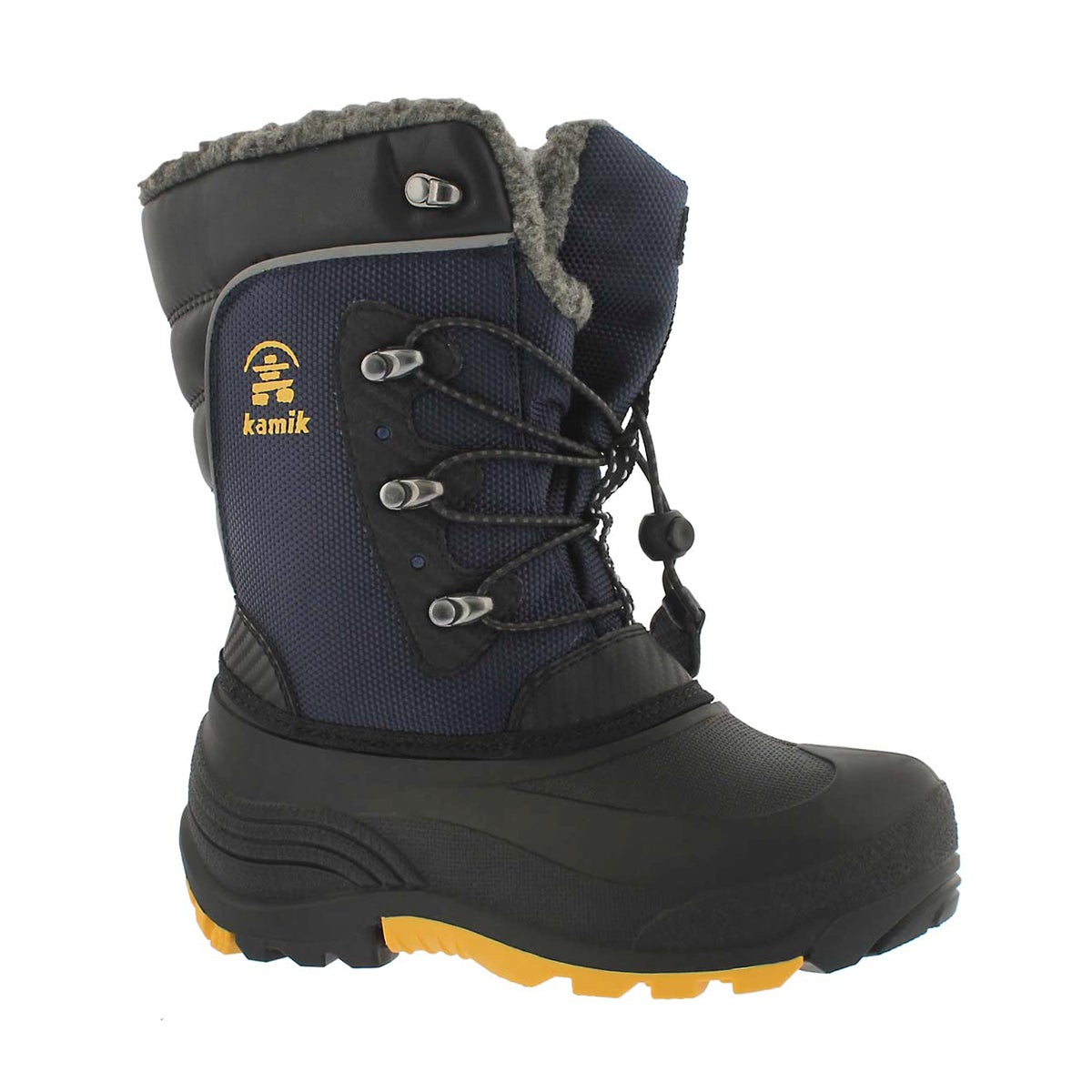 Bys Luke navy/yellow wtpf winter boot
