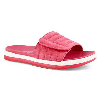 Lds Lupin rose slide sandal