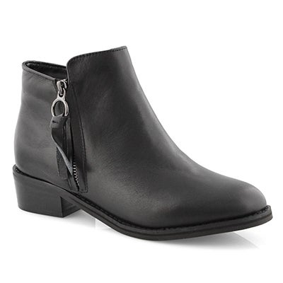 Lds Lusst blk wtpf ankle boot