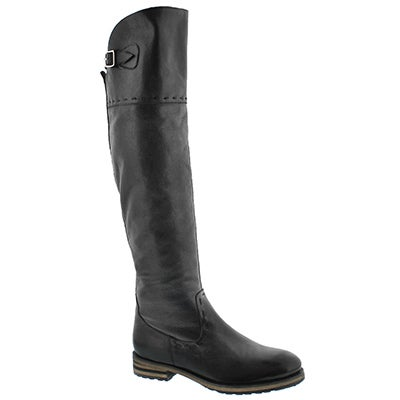 Lds Lydia black tall riding boot