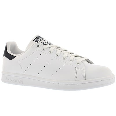 Adidas Men's STAN SMITH white/blue sneakers