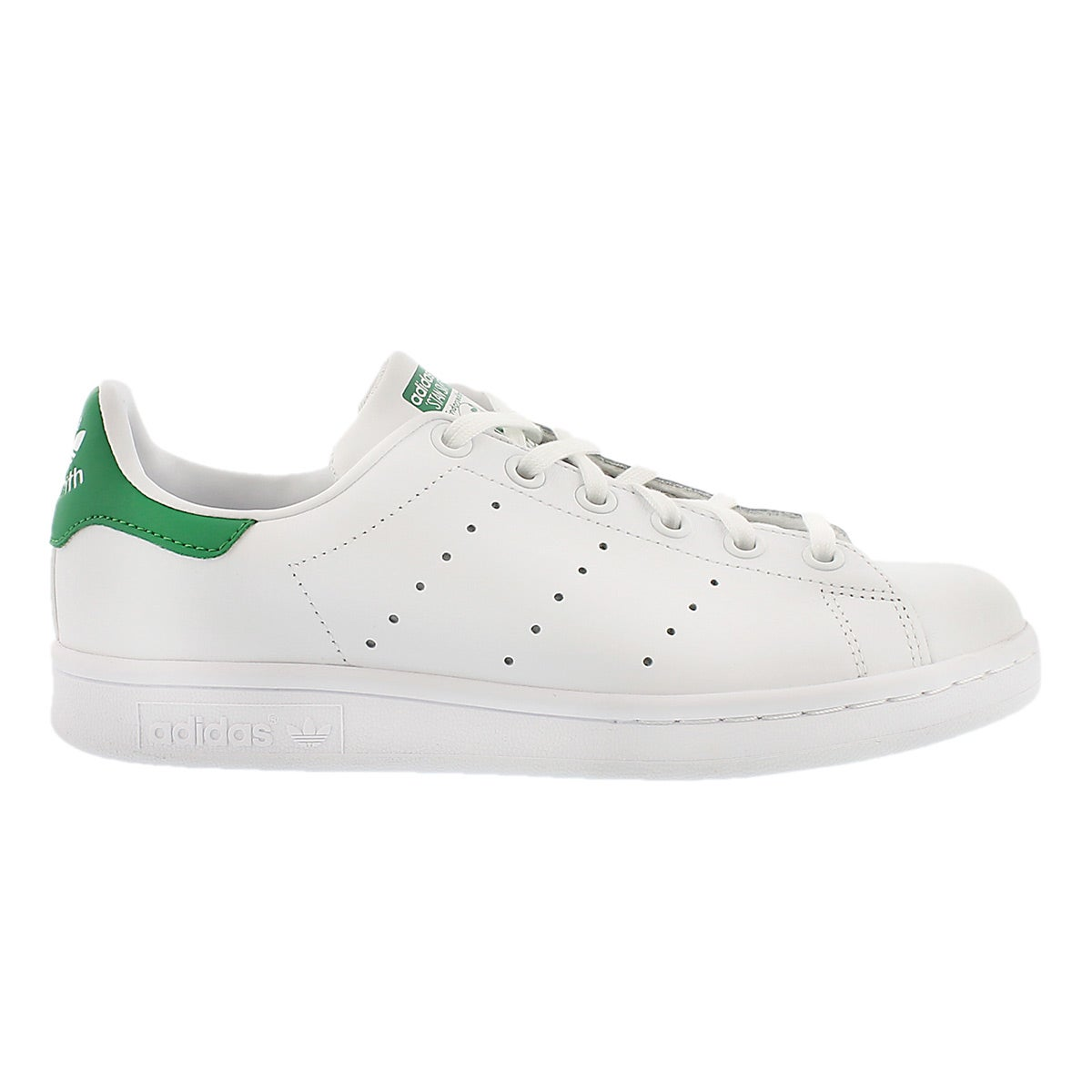 Bys Stan Smith wht/grn lace up sneaker