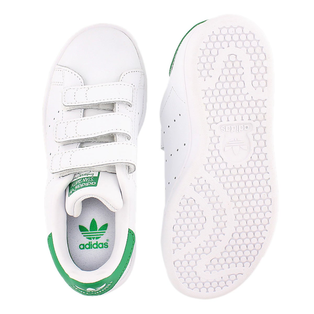 Bys Stan Smith wht/grn sneaker