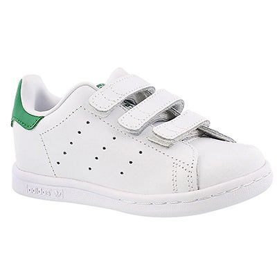 Infs Stan Smith wht/grn sneaker