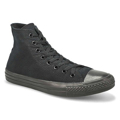 Mns CT All Star Core Hi blk mono sneaker