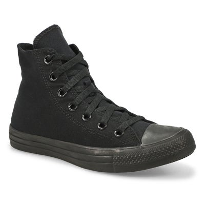 Lds CT All Star Core Hi blk mono sneaker