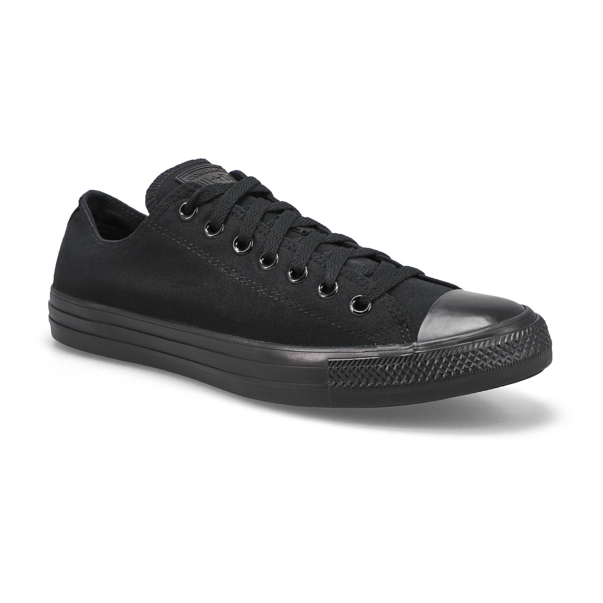 Converse All Star Ox Chuck Scarpe Sneaker Canvas Black Monochrome m5039c