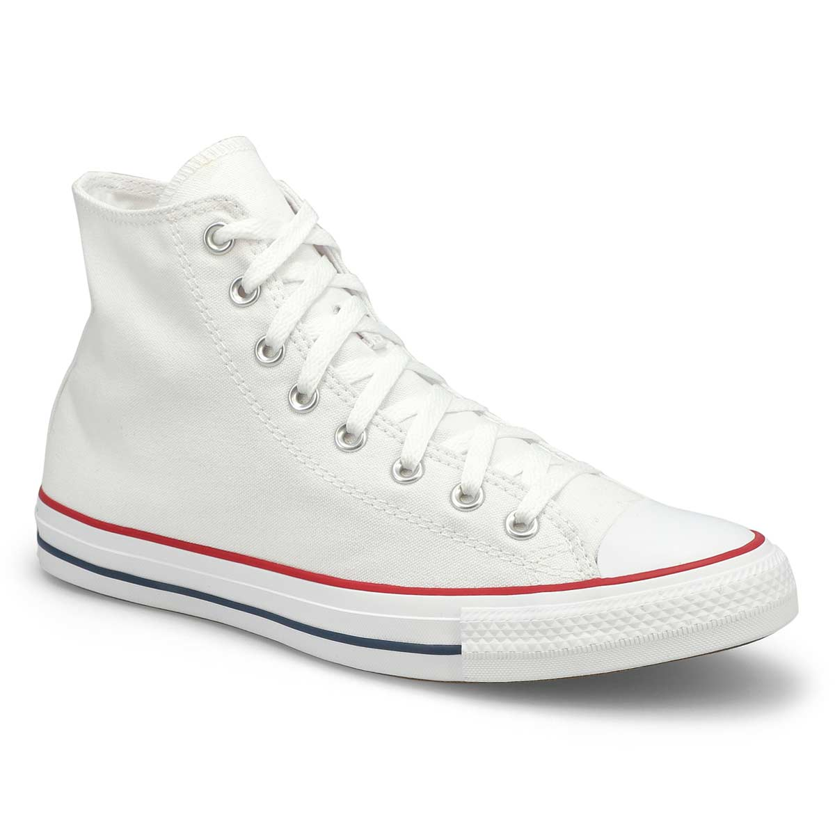 Men's CHUCK TAYLOR CORE HI white canvas sneakers