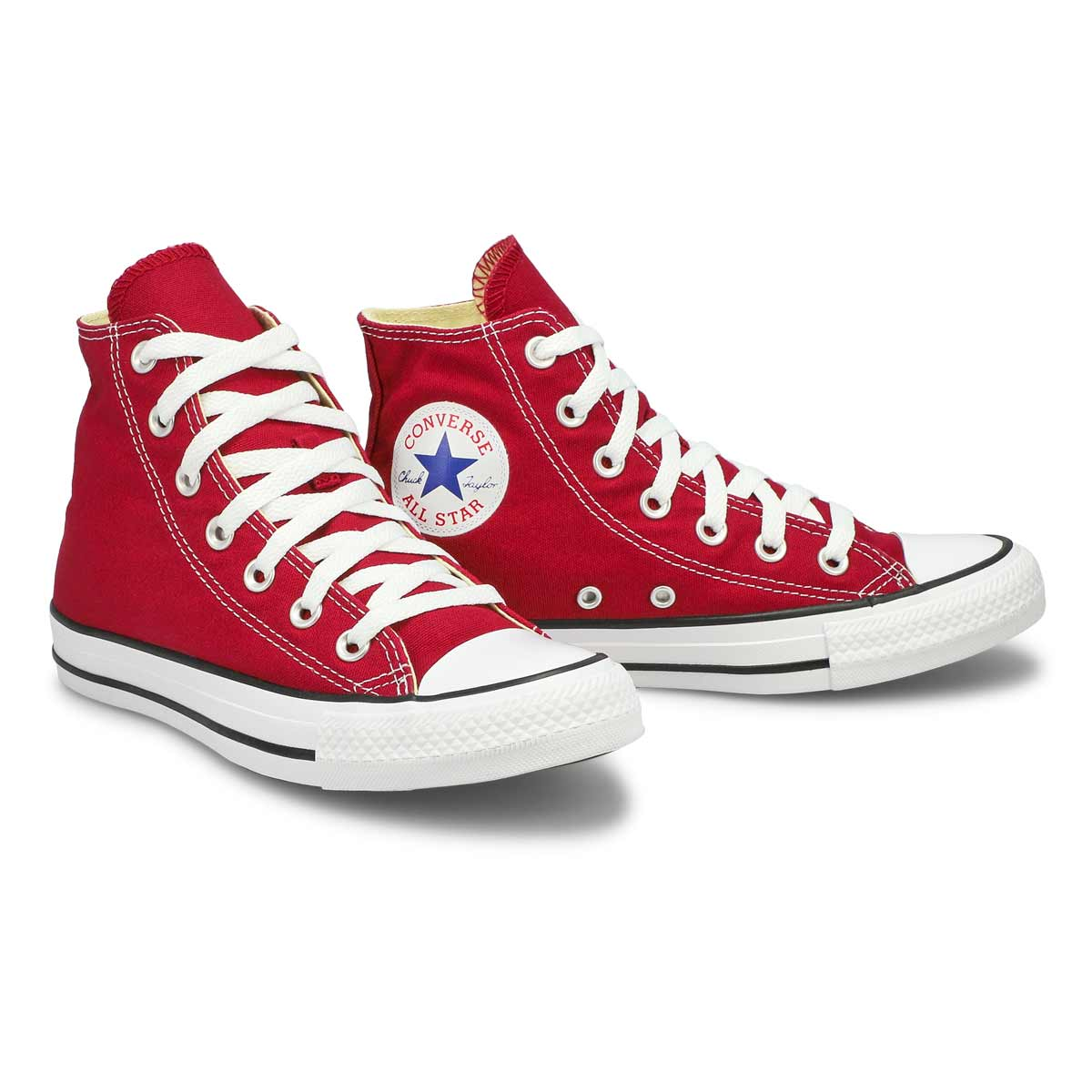 Lds CT All Star Core Hi maroon cnvs snkr