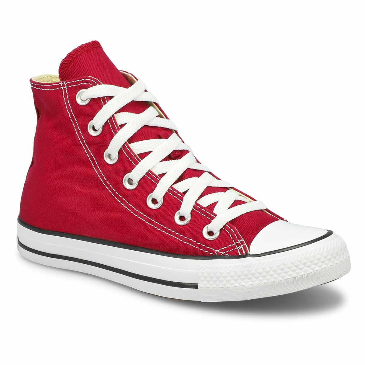 Women's CT ALL STAR CORE HI maroon sneakers