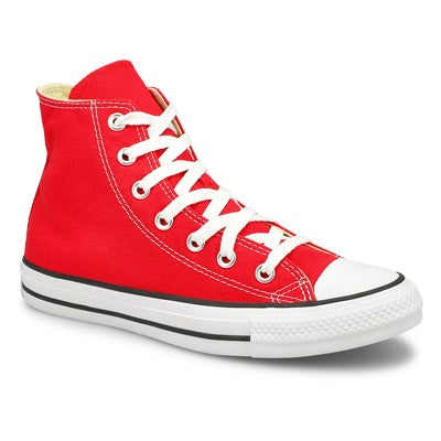 Converse Women's CHUCK TAYLOR CORE HI red sneakers