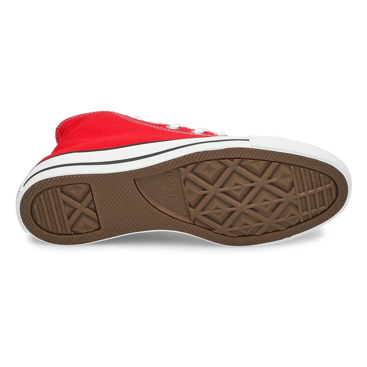 Women's CHUCK TAYLOR CORE HI red sneakers