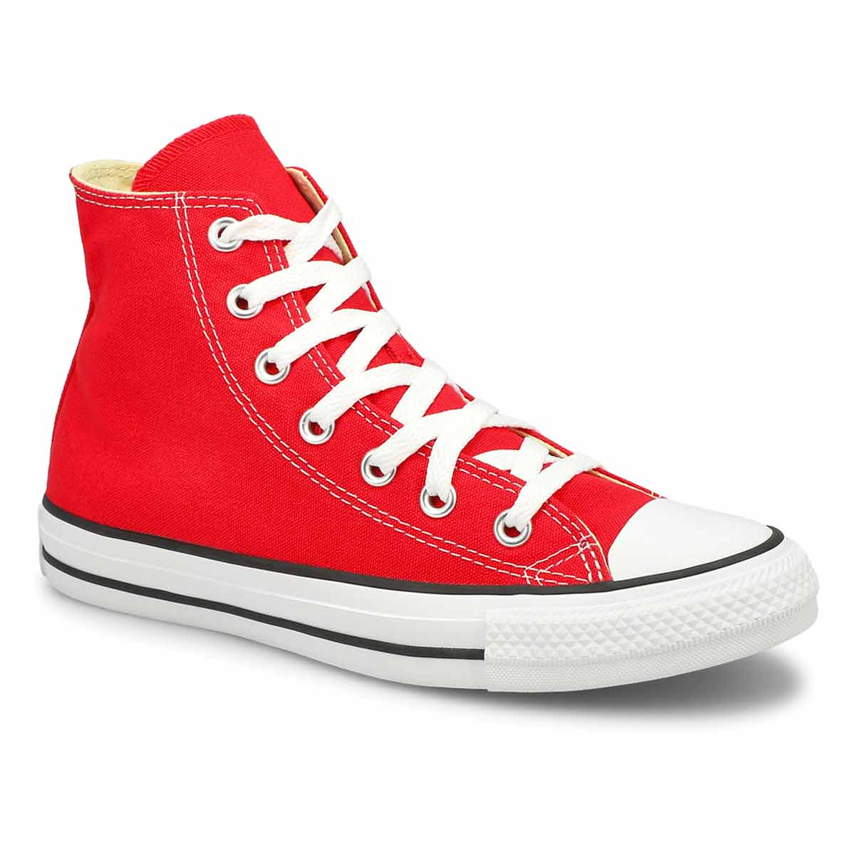 Women's CHUCK TAYLOR CORE HI red sneakers