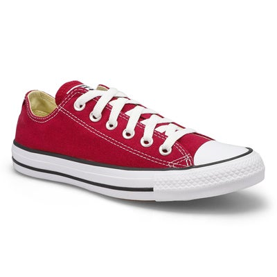 Lds CT All Star Core Ox maroon sneaker