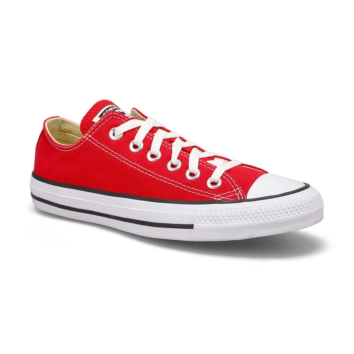 Women's CHUCK TAYLOR CORE OX red sneakers