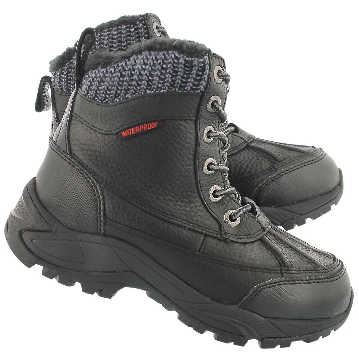 softmoc s madelynn black waterproof winter boots