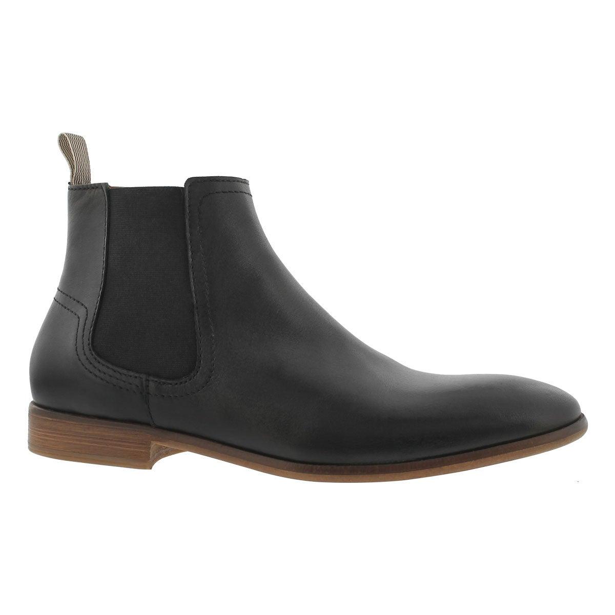 Men's MADSEN black slip on ankle boots