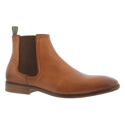 Mns Madsen cognac slip on ankle boot