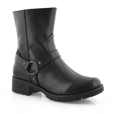 Lds Maggie black ankle boot