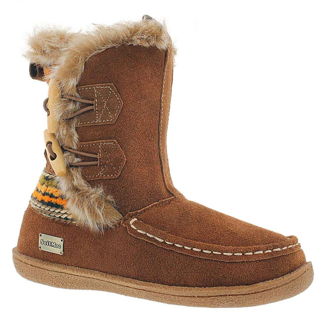 Lds Makala 2 chestnut lined casual boot