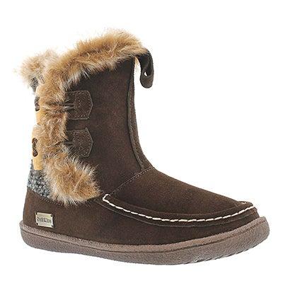 SoftMoc Women's MAKALA 2 chocolate lined casual boots