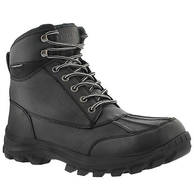 SoftMoc Men's MARCO black waterproof winter boots