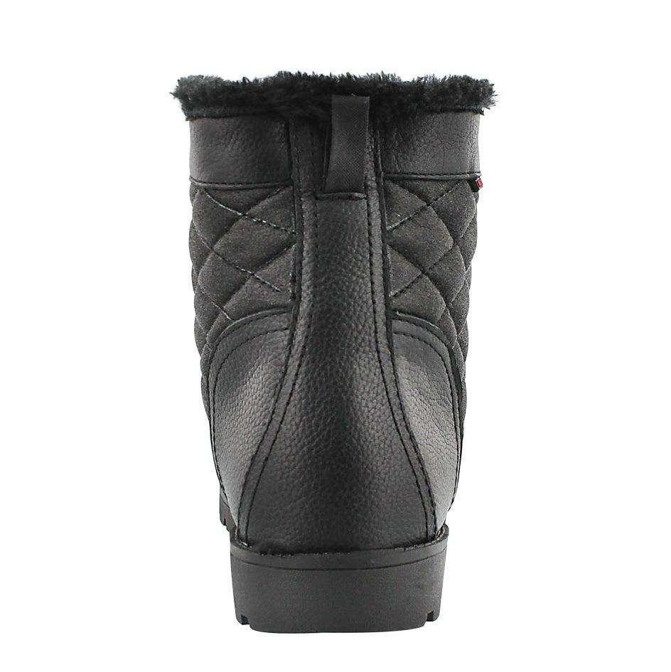 Lds Mariah black wtpf mid winter boot
