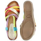 Lds Maire multi-coloured casual sandal