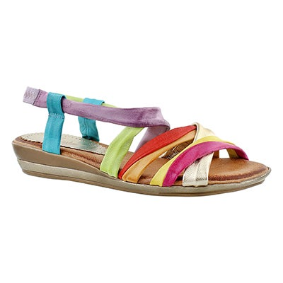 SoftMoc Women's MARIE multi-coloured casual sandals