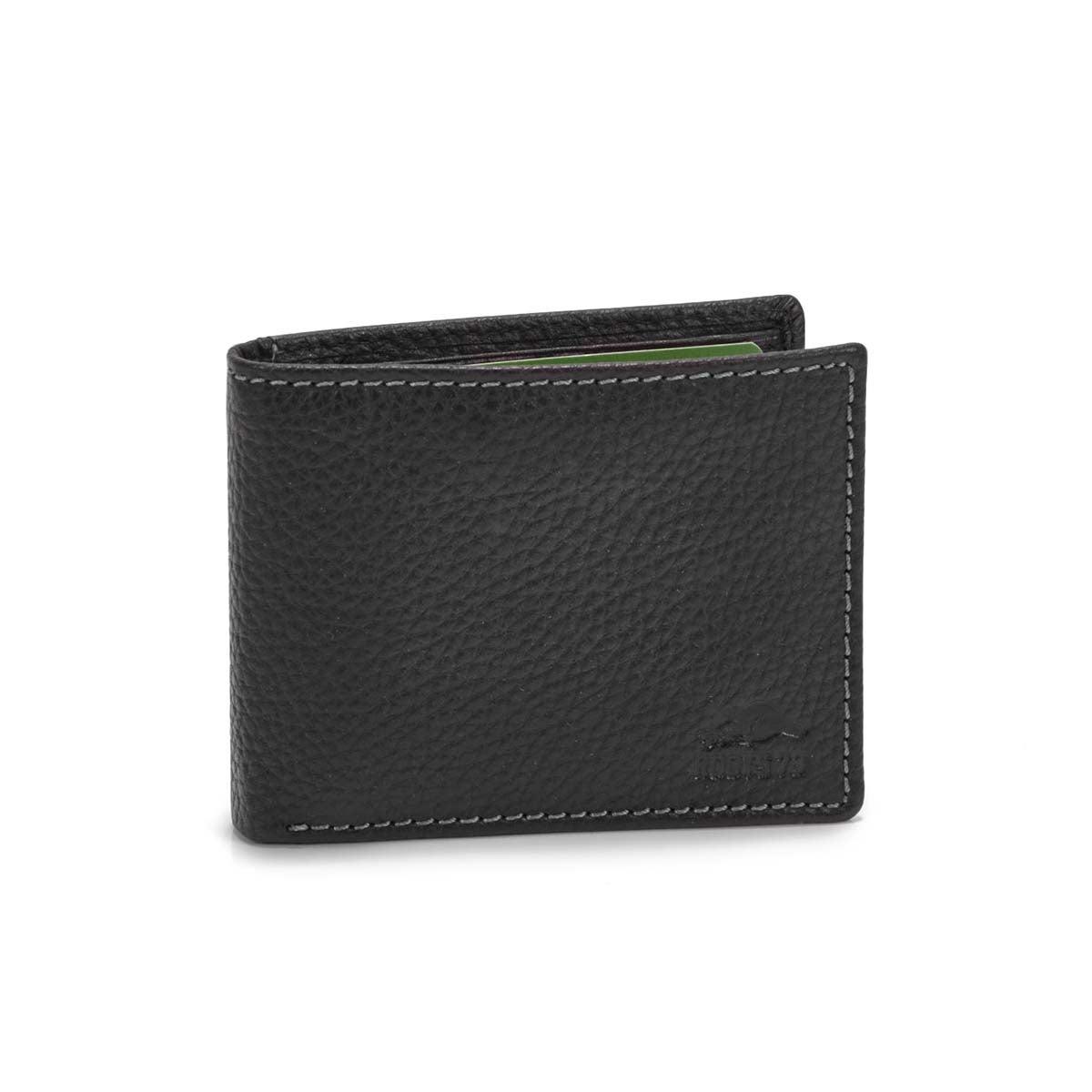 Men's MARINE black slimfold wallet
