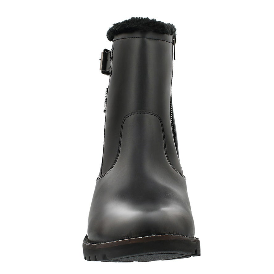 Mns Marshall black wtpf side zip boot