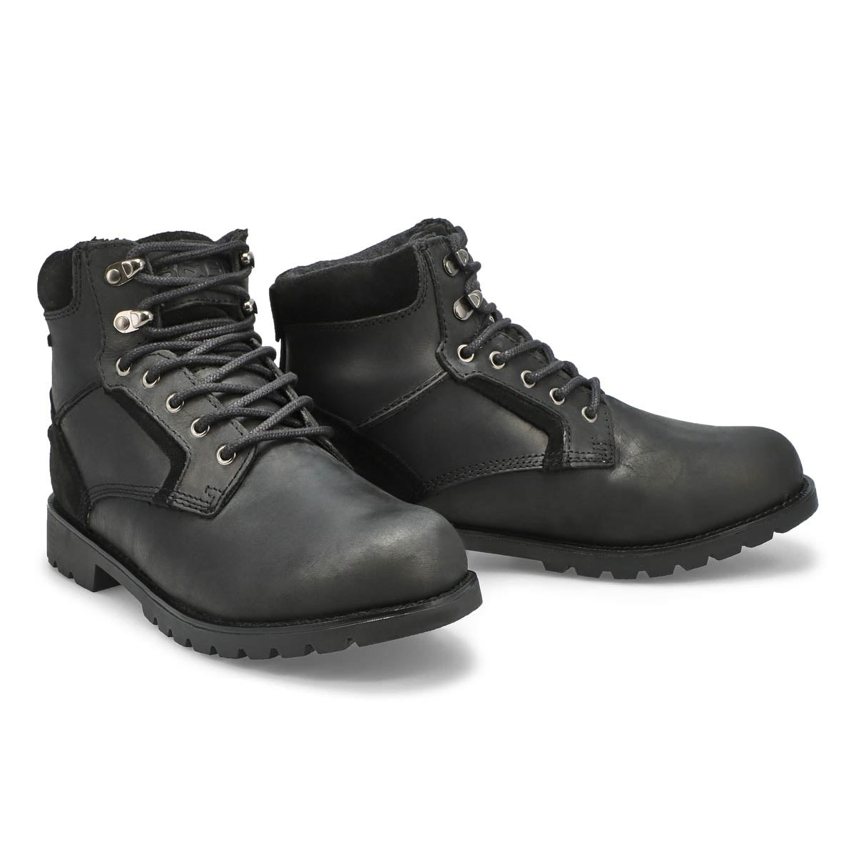 Mns Martin blk wtpf lace-up winter boot