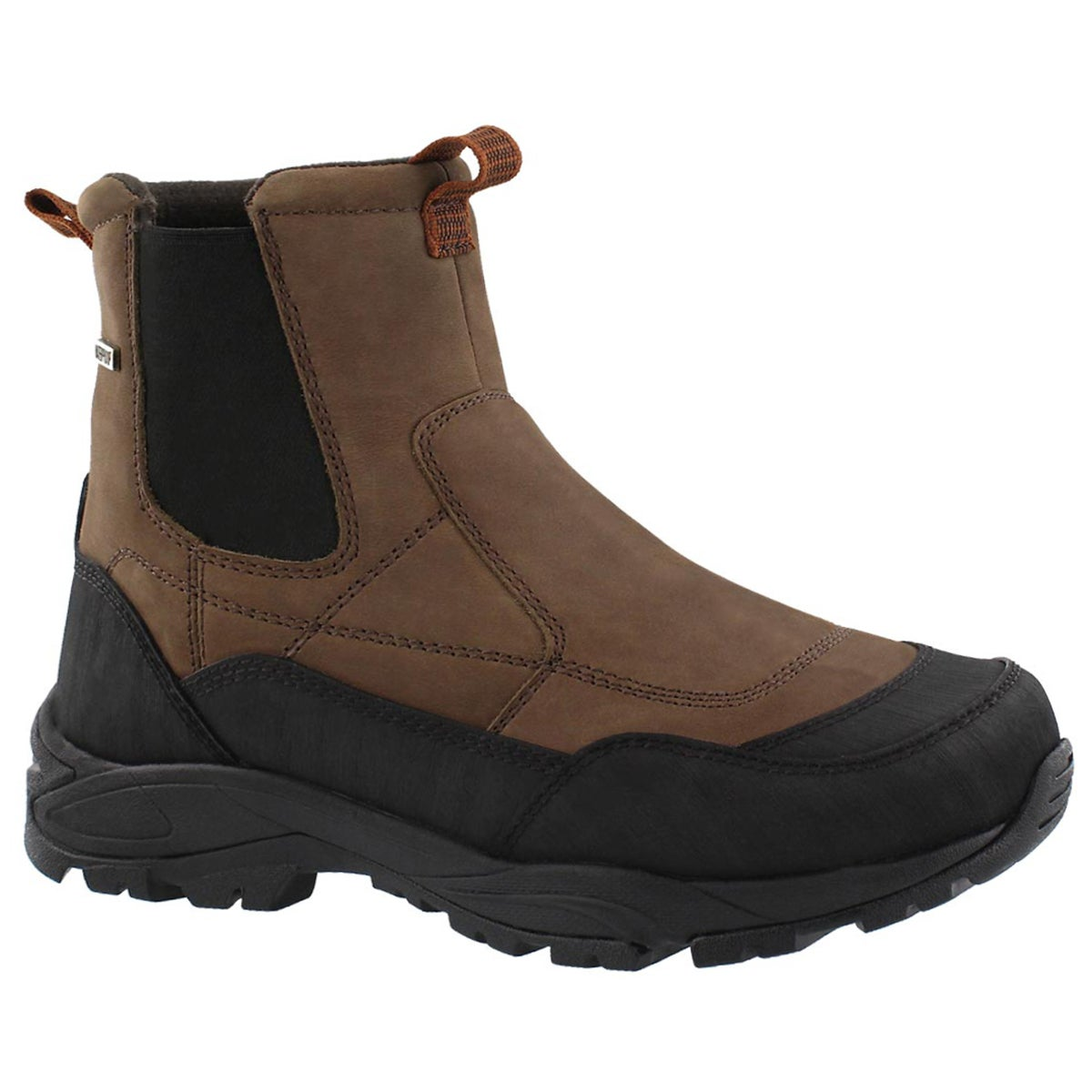 Men's MASON brown waterproof winter boots