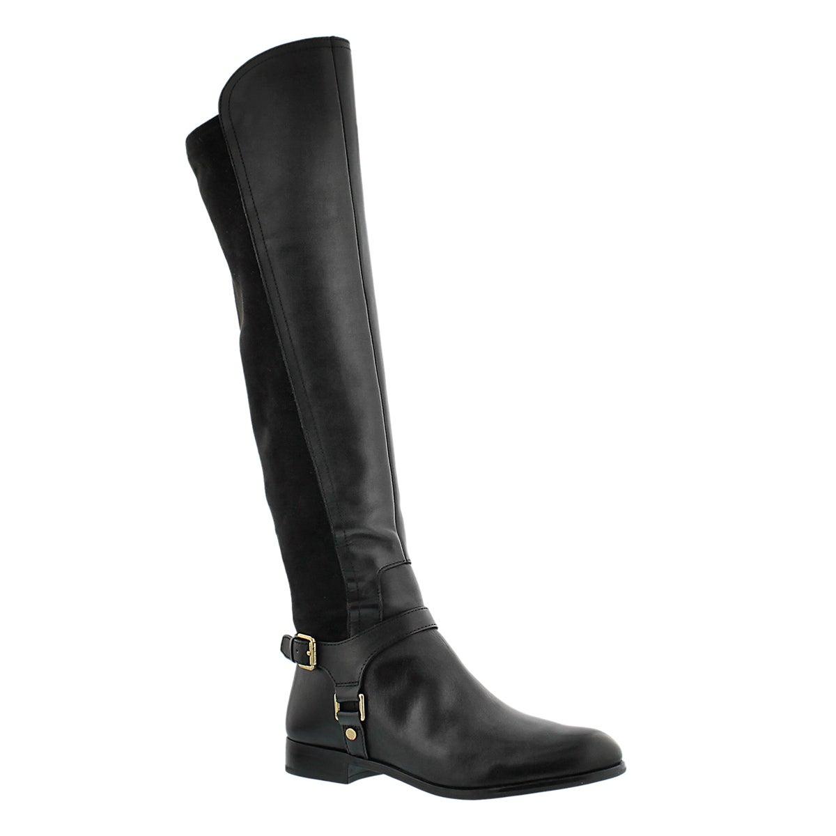 Lds Mast blk tall riding boot