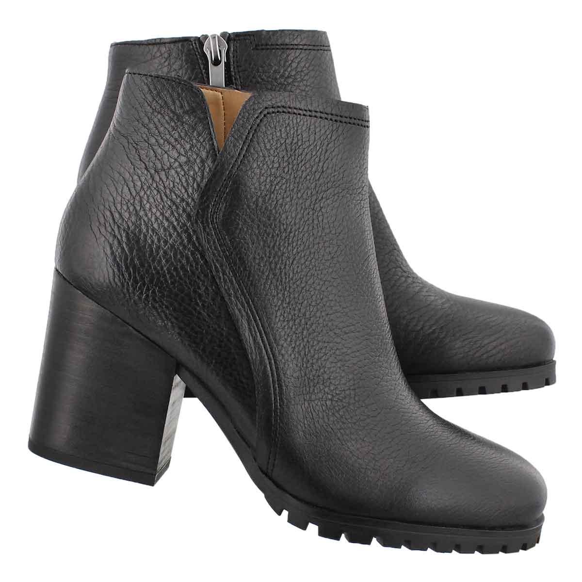 Lds Maysen black slip on bootie