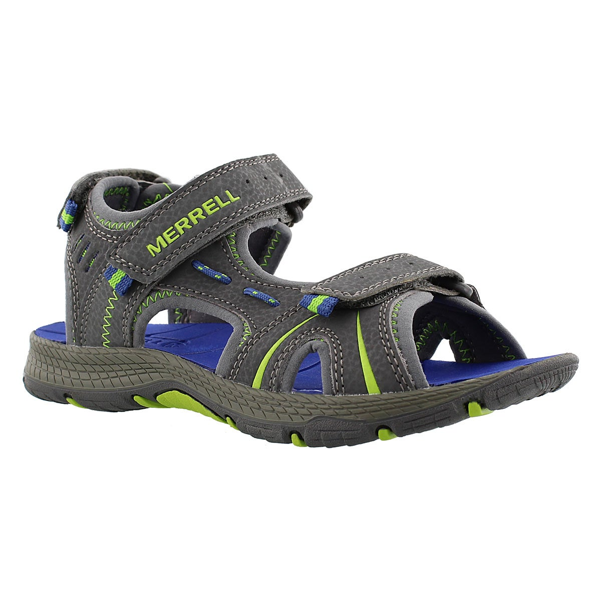 Bys Panther grey/blue sport sandal