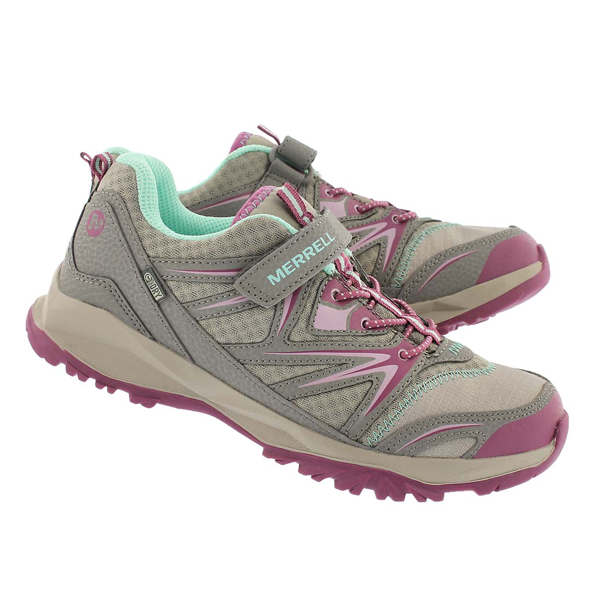 Grls Capra bolt wtpf tpe/by lace up shoe