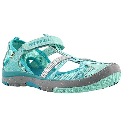 Grls HydroMonarch turq fisherman sandal