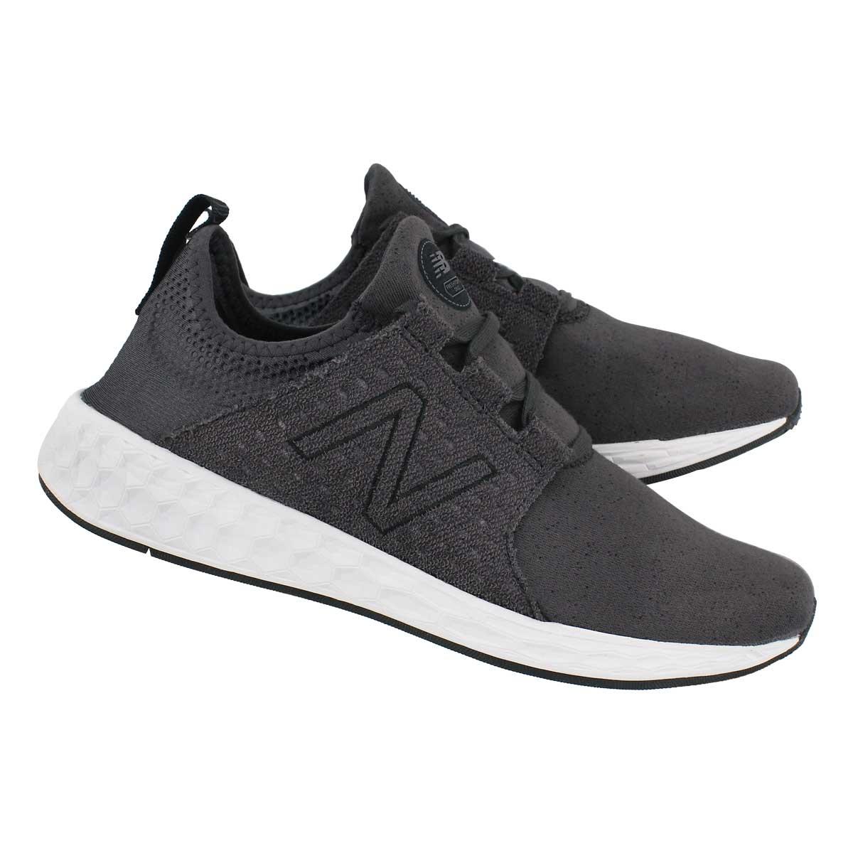 Mns Cruz black slip-on sneaker