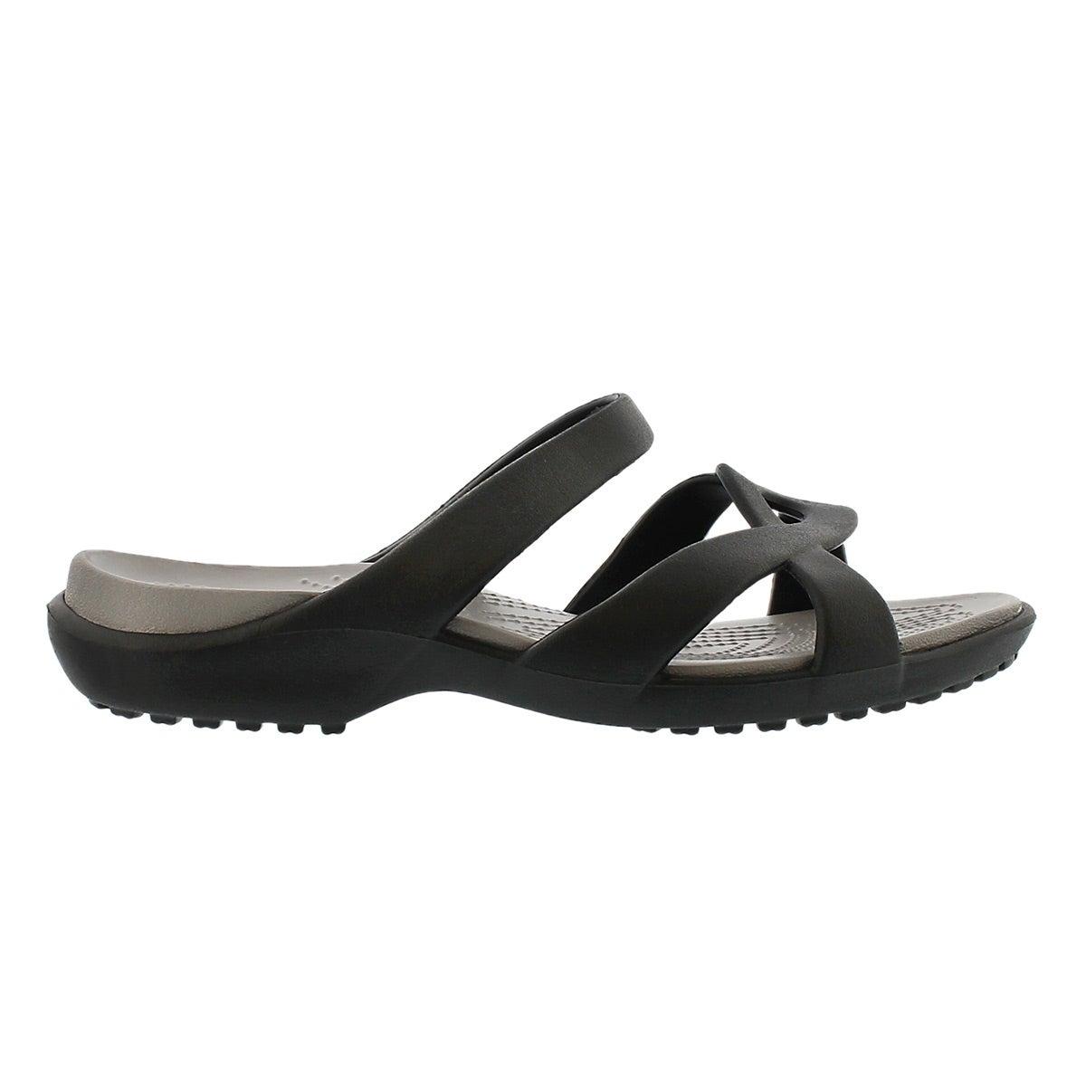 Lds Meleen Twist black casual sandal